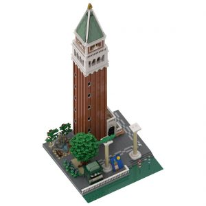 Mocbrickland Moc 88904 Venice Campanile And Surrounding Area (1)