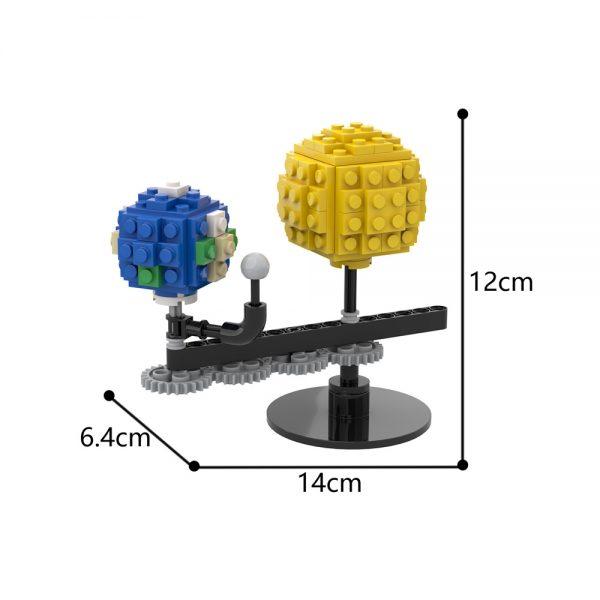 Mocbrickland Moc 89840 Mini Sun And Earth (3)