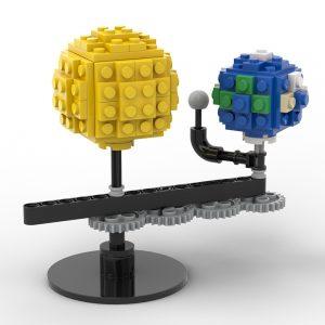 Mocbrickland Moc 89840 Mini Sun And Earth (6)