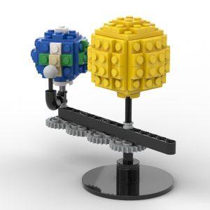 Mocbrickland Moc 89840 Mini Sun And Earth (7)