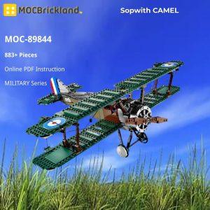 Mocbrickland Moc 89844 Sopwith Camel