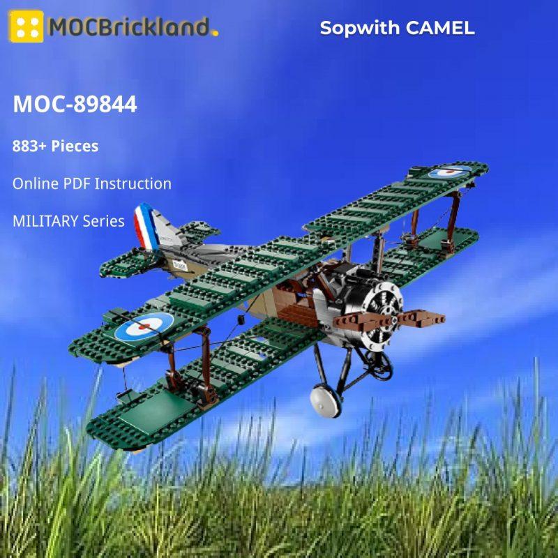 MOCBRICKLAND MOC-89844 Sopwith CAMEL