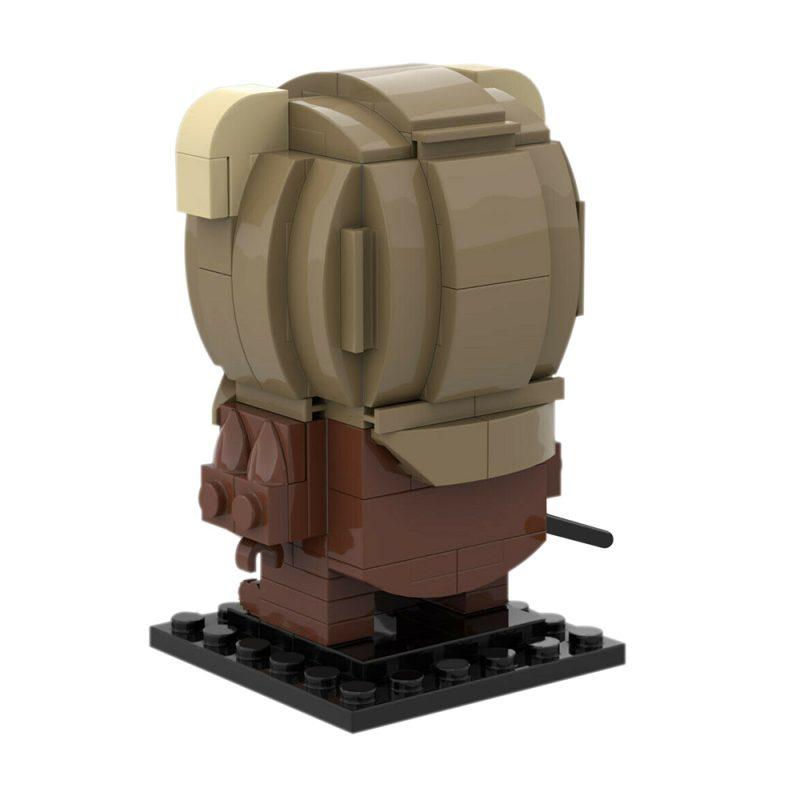MOCBRICKLAND MOC-90120 Ewok Brickheadz-Wicket