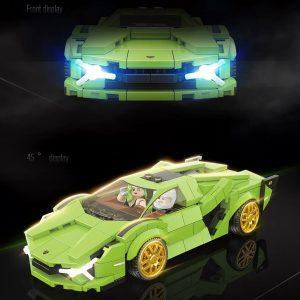 Quanguan 100140 Green Racing Car (4)