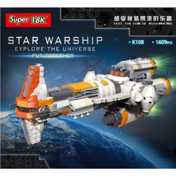 Super18k K108 Star Warship (3)