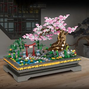 Zhegao 00900 Peach Blossom Bonsai (5)