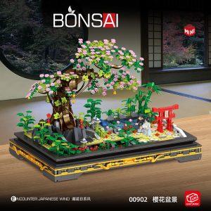 Zhegao 00902 Sakura Bonsai (3)